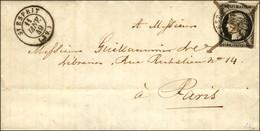 Plume + Càd T 15 ST ESPRIT (39) 11 JANV. 49 / N° 3. - TB / SUP. - R. - 1849-1850 Cérès