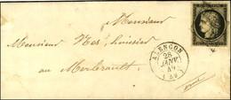 Grille / N° 3 Càd T 15 ALENÇON (59) 28 JANV. 49. - SUP. - 1849-1850 Ceres