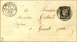 Càd T 14 LA SOUTERRAINE (22) 13 FEVR. 49 / N° 3 (def). - TB. - R. - 1849-1850 Cérès