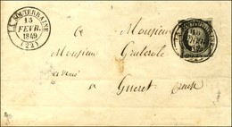 Càd T 14 LA SOUTERRAINE (22) 13 FEVR. 49 / N° 3 (def). - TB. - R. - 1849-1850 Ceres