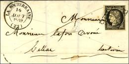 Grille / N° 3 Càd T 14 LA SOUTERRAINE (22). 1849. - SUP. - 1849-1850 Cérès