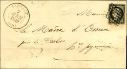 Grille / N° 3 Noir Sur Blanc Càd T 13 ANDELOT (50). 1849. - TB / SUP. - 1849-1850 Cérès