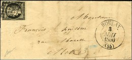 Grille / N° 3 Càd T 13 BOULAY (55). 1850. - TB / SUP. - 1849-1850 Cérès