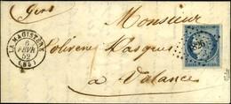 PC 1826 / N° 4 Superbes Marges Càd T 15 LA MAGISTERE (85) Sur Lettre Avec Texte Pour Valence Sur Baïse. 1852. - SUP. - 1849-1850 Ceres