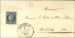 PC 493 / N° 4 Càd T 13 BOUSSAC (22) B. RUR. H Sur Lettre Avec Texte Daté De Lavaufranche Le 2 Janvier 1852. - SUP. - 1849-1850 Ceres