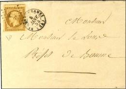 PC 289 / N° 9 Superbes Marges Càd T 15 BAUME LES DAMES (24) Sur Lettre Adressée Localement. 1854. - TB / SUP. - R. - 1852 Luigi-Napoleone