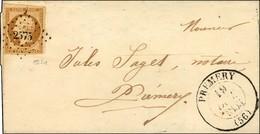 PC 2575 / N° 9 Très Belles Marges Càd T 13 PREMERY Sur Lettre Locale. 1853. - SUP. - R. - 1852 Luigi-Napoleone