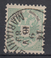OOSTENRIJK - Michel - 1883 - Nr 45 D (T/D 10 1/2) - Gest/Obl/Us - Used Stamps