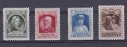 Liechtenstein 1929 Nr 90/93 *, Zeer Mooi Lot Krt 4208 - Unused Stamps