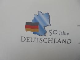 """""""50 ANS DE L'ALLEMAGNE"""" TIMBRES+BLOCS+FDC VOLUME N°1 (2571) 2 KILOS 400 - Germany"""