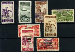 Venezuela Nº 76/8, 79/81, 84/5 . Año Nº 1925/42- Servicios - Venezuela