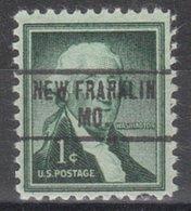 USA Precancel Vorausentwertung Preo, Locals Missouri, New Franklin 734 - Verenigde Staten