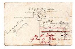 FRANCE - CACHET :  BLONVILLE (CALVADOS) / CPA LE PREMIER AVEU - 1877-1920: Periodo Semi Moderno