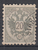 OOSTENRIJK - Michel - 1883 - Nr 48 A (T/D 9 1/2) - Gest/Obl/Us - Usati
