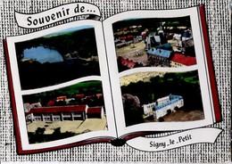CP 08 Ardennes - SIGNY-LE-PETIT, Vues Multiple Sur Un Livre Ouvert, étang, Place église, Groupe Scolaire, Cp N° 115 - Other Municipalities