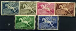 Uruguay Nº 56/9, 97/8 . Año Nº 1931/43- Aéreos - Uruguay