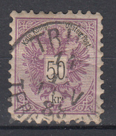 OOSTENRIJK - Michel - 1883 - Nr 49 A (T/D 9 1/2) - Gest/Obl/Us - Usati