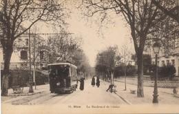 J11 - 06 - NICE - Alpes-Maritime - Le Boulevard De Cimiez - Tramway - Nizza