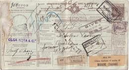 ITALIE 1912    ENTIER POSTAL  /GANZSACHE/POSTAL STATIONERY COLIS POSTAL DE  VENEZIA - Interi Postali