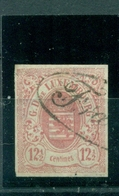 Luxemburg ,Wappen Nr. 7 Gestempelt - 1859-1880 Coat Of Arms