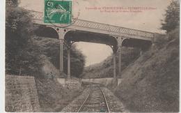 Orne : Env. De  Vimoutiers :  TICHEVILLE : Le  Pont  D Ela  Grande   Tranchée - Otros Municipios