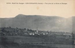 CPA - Lescheraines - Vue Prise De La Motte En Beauges - Autres Communes