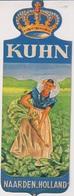 MP1 - MARQUE PAGES KUHN NAARDEN HOLLAND - CULTURE ROYALE DES GRAINES DE BETTERAVE A SUCRE - Marque-Pages
