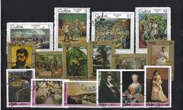 Cuba: 1444/ 1447 + 1949/ 1954 + 1898/ 1903  Oblit - Cuba