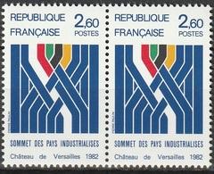 FRANCE   Sommet Des Pays Industrialisés   Paire   N° Y&T  2214  ** - Neufs