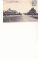 Circuit De La Sarthe - 1906 - Passage à La Belle Inutile - Route Plate Jusqu'à La Fourche - France