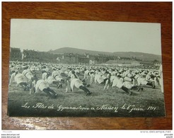 Carte Photo De NANCY : Les Fetes De Gymnastique 1919 …... … 4389 - Nancy