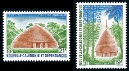 NOUV.-CALEDONIE 1988 - Yv. 553 Et 554 **  - Case à Mwarindou Et Nathalo (2 Val.)  ..Réf.NCE25264 - Neufs
