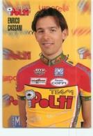 Enrico CASSANI . 2 Scans. Polti - Wielrennen