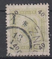OOSTENRIJK - Michel - 1899 - Nr 78A (T/D 13:13 1/2) - Gest/Obl/Us - Usati
