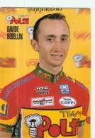 Davide REBELLIN . 2 Scans. Polti - Cycling