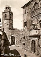(C).Poggio Mirteto(RI).Torre Dell'Orologio E Palazzo Vescovile.Viaggiata (c19) - Rieti