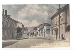 25226 - Yverdon Rue De Neuchâtel Hôtel Du Port Attelage - VD Waadt