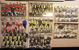 FOOTBALL - Footballeur - Lot De 8 Photos Cartes - Voir Description - 2 Scans - Voetbal