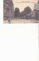 Circuit De La Sarthe - 1906 - Deux Virages En St Calais, Entre Le Passage à Niveau Et La Route Planchélés - Saint Calais
