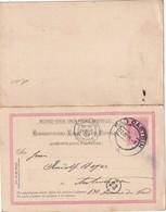 AUTRICHE 1909    ENTIER POSTAL  /GANZSACHE/POSTAL STATIONERY CARTE AVEC RREPONSE DE  BAD GASTEIN - Enteros Postales