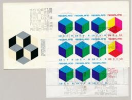 Nederland - 1970 - Groot Kindblok Op 1e Dag Envelop - FDC