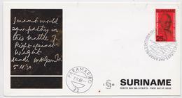 Gandhi - FDC Suriname 1969 - Mahatma Gandhi