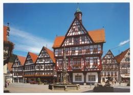 Bad Urach - Rathausplatz Mit Marktbrunnen - Bad Urach