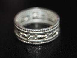 Bague Ancienne Argent Début XXe - Silver Ring - Bagues