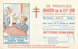 828/30 -- ANTITUBERCULEUX - Carnet De 25 Vignettes Métiers Du XVIè Siècle Série 2  - Complet Et TB Etat - Erinnophilie