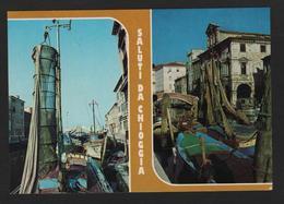 - Italie - Saluti Da CHIOGGIA - Port Et Bateaux De Pêche - Chioggia