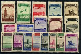 Marruecos Español Nº 186/95 Y 297/304. Año 1938/49 - Marocco Spagnolo
