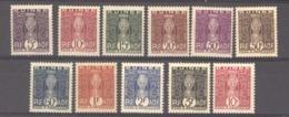 Guinée  -  Taxes  :  Yv  26-36  * - Neufs
