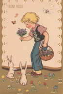 Cartolina  - Postcard /  Viaggiata - Sent /  Buona Pasqua. - Easter