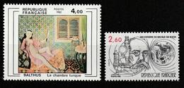 FRANCE       N° Y&T  2245 Et 2246  ** - Neufs